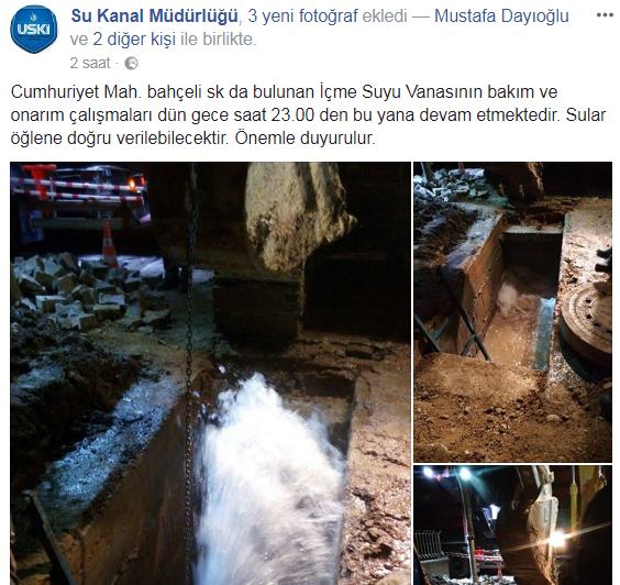 Uşak'ta sular kesik, Belediye'ye ulaşılamıyor!