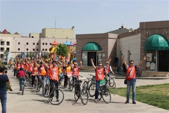 TEMA Vakfı'ndan Uşak'ta bisiklet turu!