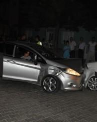 Aynı otomobil 1 saat içinde 6 farklı araca çarptı!