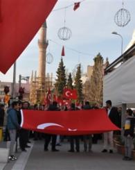 Uşak'ta Çanakkale Şehitleri Böyle Hep Birlikte Omuz Omuza Anıldı