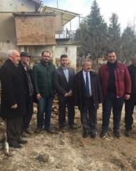Nimet Teyzenin evi yandı siyasiler gerekli ŞOVu yaptı ama ardı gelmedi yaşlı kadın adeta sokakta kaldı