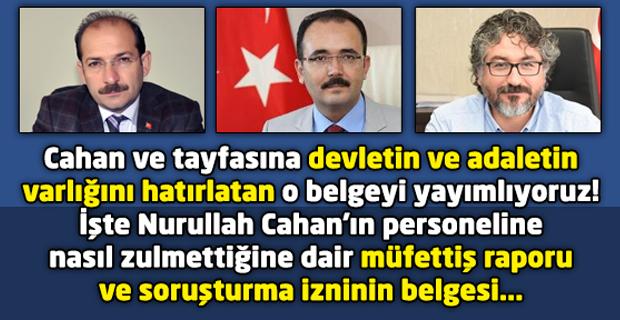 AKP'li Belediye Başkanı Cahan'a şok! İçişleri Bakanı Soylu soruşturma iznini verdi!