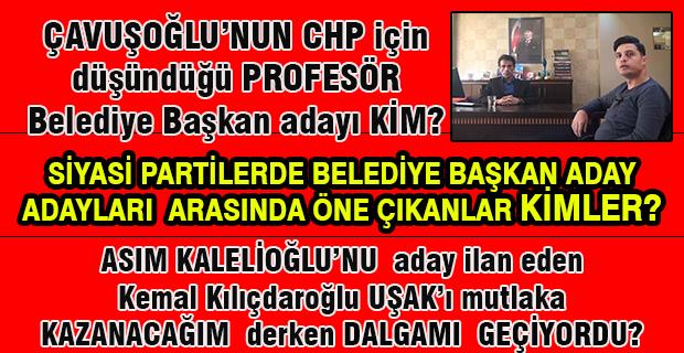 Gazeteci Çavuşoğlu ile yerel seçimler öncesi aday adaylarını değerlendirdik