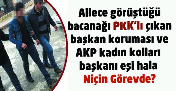 AKP'li Eşme Belediye Başkanı'nın koruması PKK'lının Bacanağı çıktı ama hala görevde