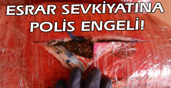 6 Kilo Esrarı Tıbbi Atık Torbalarına Sakladılar!