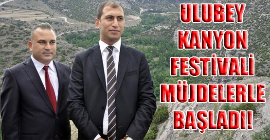 9. Ulubey Kanyon Kültür ve Turizm Festivali'nin Startı Verildi!