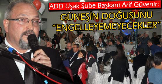 ADD Uşak Şubesi, Geleneksel Cumhuriyet Balosunu Düzenledi!