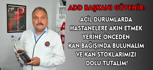 ADD Uşak şubesi üyeleri kan bağışında bulundu!