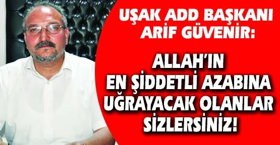 ADD Uşak Şubesi'nden, Atatürk'e Hakaret Eden Milli Eğitim Müdürüne Sert Tepki!