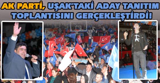 Ak Parti Adaylarını Murat Kekilli Konseriyle Tanıttı!