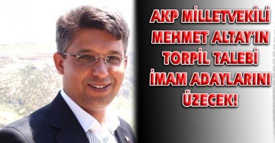 AKP Uşak Milletvekili Altay Torpil İddiası İle Ulusal Basının Gündeminde!