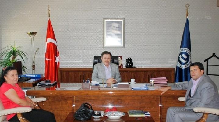 Alevi Kültür Derneği'nden Rektör'e Ziyaret
