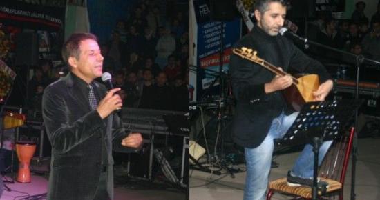 Ali Kınık ve Mustafa Yıldızdoğan Uşak Konseri Gerçekleştirildi.