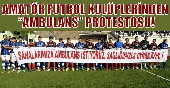 Amatör Futbol Müsabakaları 'Sağlıksız' Geçiyor!