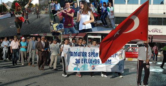 Amatör Spor Haftası Etkinlikleri Başladı!