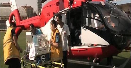 Ambulans Helikopter Kızılkaya Bebek İçin Havalandı!