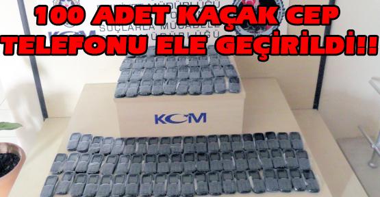 Amcaoğullarının Kaçak Cep Telefonu Macerası Emniyette Son Buldu!