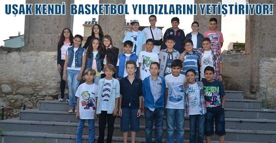Anadolu64 Spor Kulübü Uşaklı Basketbol Yıldızlarını Yetiştiriyor!