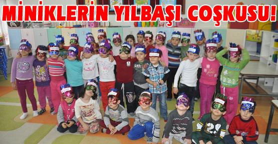 Anaokulu Öğrencileri Yılbaşını Okulda Kutladı!