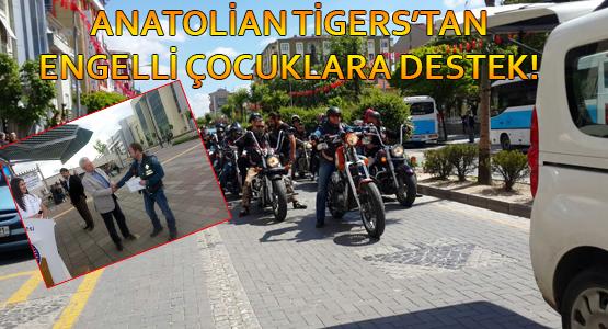 Anatolian Tigers Motosiklet Kulübü engelli çocuklarla buluştu!
