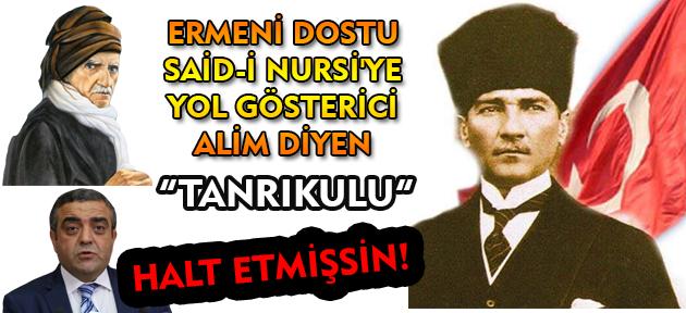 Atatürk'e deccal diyebilen bir meczup, senin yol göstericinse; CHP'de işin ne?