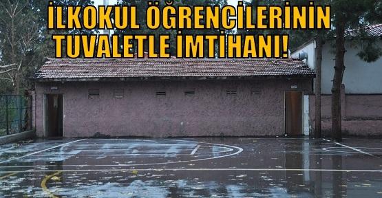 Aybey İlkokulu Öğrencilerinin Tuvalet Çilesi!