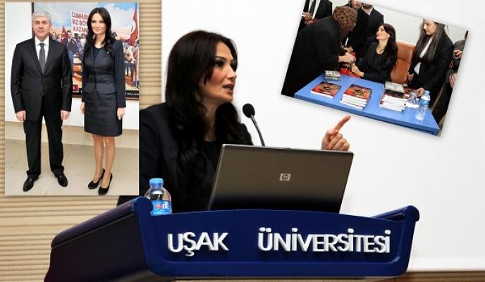 Azerbeycan Milletvekili Ganire Paşayeva Hocalı Konferansı İçin Uşak'a Geldi!