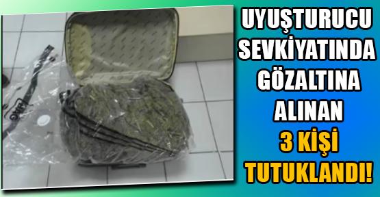 Bagajda ve Torpido Gözünde Esrar Ele Geçirildi!