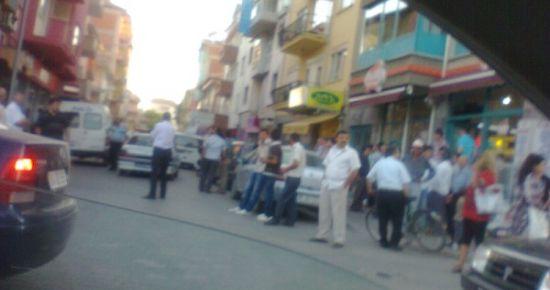 Banaz'da Gergin Saatler Sürüyor. Kaymakam ve Belediye Başkanı Devrede
