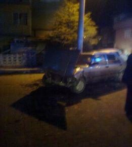Banaz'da Trafik Kazası.