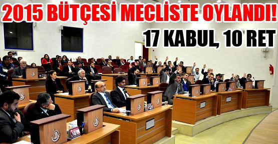 Belediye Meclisi'nde Bütçe Oylaması Gergin Geçti!