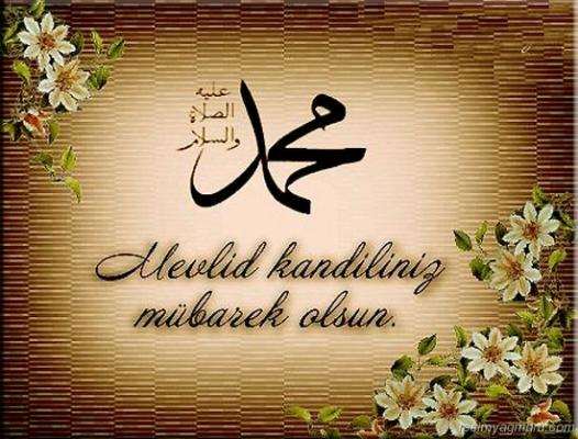 Bugün Peygamber Efendimiz Hazreti Muhammed'in Doğum Günü Mevlid Kandili