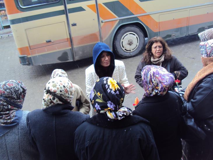 CHP Uşak Kadın Kolları 8 Mart Kadınlar Gününü Kadınlarla Kutladı..