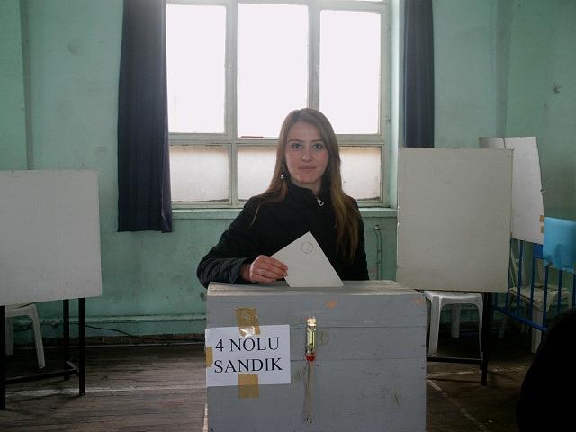 CHP Uşak Lisesinde Ön Seçim Yapıyor