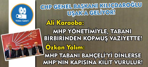 CHP İl Başkanı Ali Karaoba, MHP İl Başkanı'nın açıklamalarına cevap verdi!