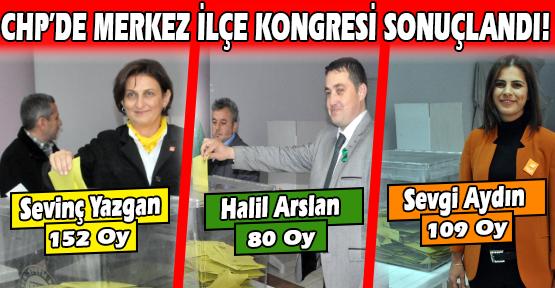 CHP Uşak'ta Merkez İlçe Başkanlığına Sevinç Yazgan Seçildi!