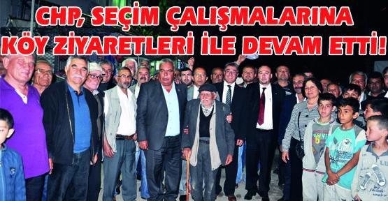 CHP Milletvekili Adayları Ağaçbeyli ve Sazaklar Köyü'nü Ziyaret Etti!