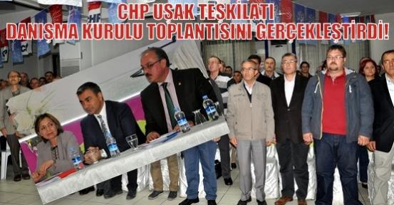 CHP Uşak Teşkilatı Yerel Seçimleri Değerlendirdi!