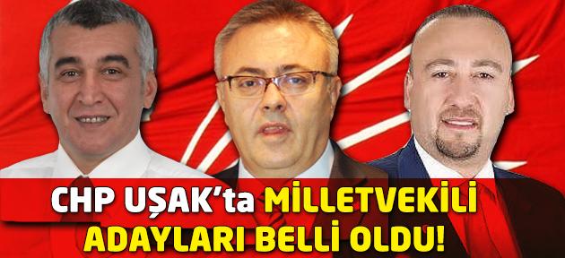 CHP'de milletvekili adayları kesin listesi belli oldu! İşte Uşak'ın adayları!