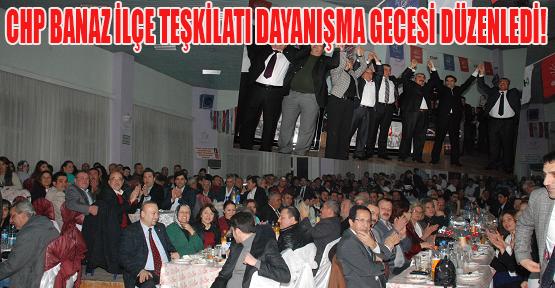 CHP'li Üyeler, Banaz'daki Dayanışma Yemeğinde Bir Araya Geldi!