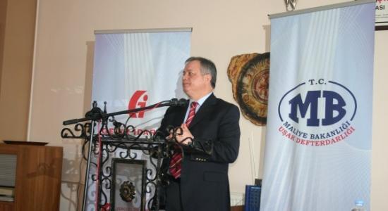 Defterdar Abdullah Kırım Uşak'a İlişkin 2011 Vergi Rakamlarını Açıkladı!