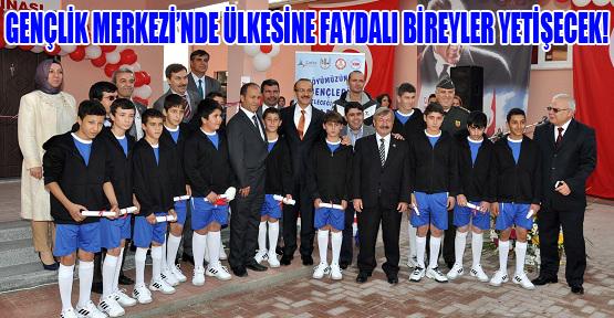 Derbent Köyü Gençlik Merkezi Açıldı!