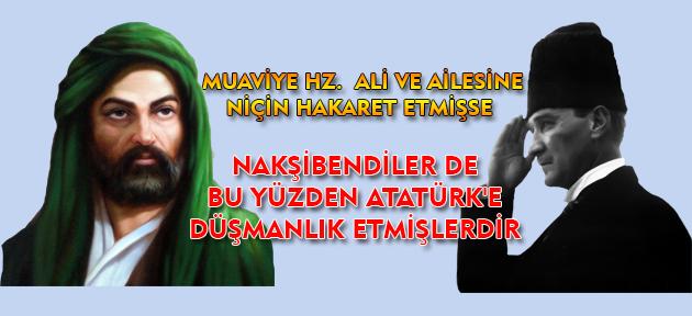 Dindar Atatürk'ü Nakşibendiler niçin ısrarla dinsizlikle suçladı? Amaçlanan neydi?
