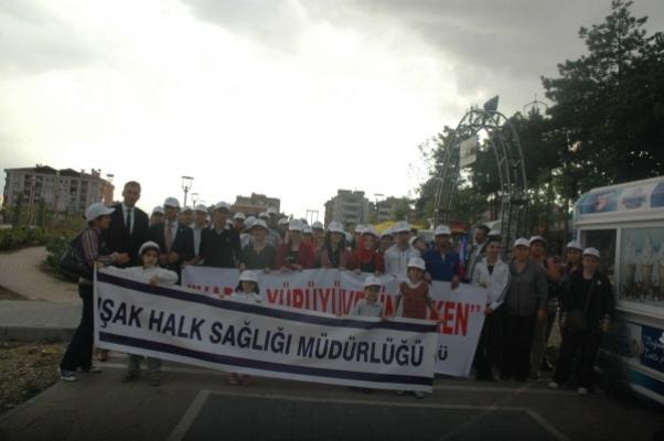 Dünya Yürüyüş Günü'nde ATAPARK'ta Sağlık Yaşam Egzersizleri!