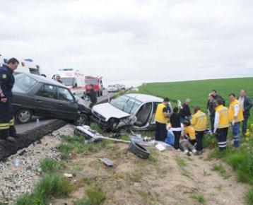 Edirne Havsa İlçesinde Trafik Kazası Meydana Geldi.Kazada Recep Güngör Öldü.