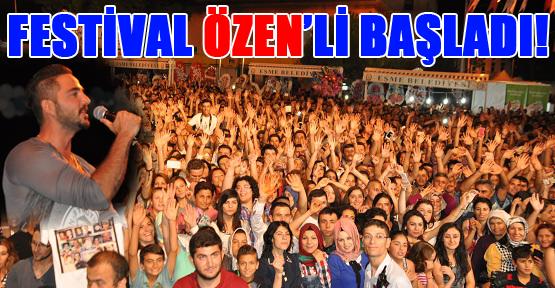 Eşme'de Gökhan Özen Rüzgarı Esti!