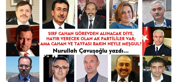 Evet kampanyasında bile, Uşak Haber Merkezi ekibi aleyhinde propaganda yürüten AKP'li güruha atfen!