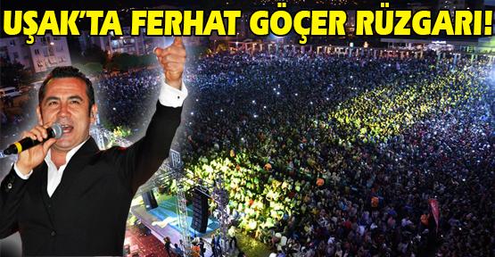Ferhat Göçer Konseri'ne Uşak'ta Yoğun İlgi!