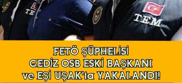 FETÖ şüphelisi 3 kişi Uşak'ta yakalandı!
