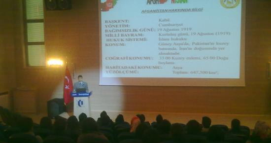 Genç Bakış Kulübü'nden Afgan İşgali Konferansı